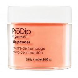 Manicure Tytanowy PRODIP Puder akrylowy Tangelo Orange 25g
