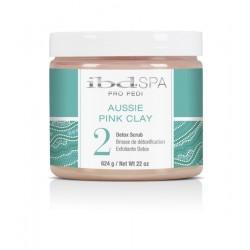 IBD PEDISPA Aussie Pink Clay 2 Detox Scrub 624g