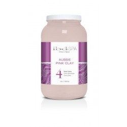 IBD PEDISPA Aussie Pink Clay 4 Detox Creme 3,5l