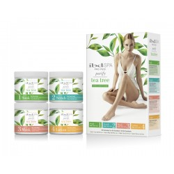 IBD PEDISPA Purify Tea Tree -Zestaw startowy 4x118g