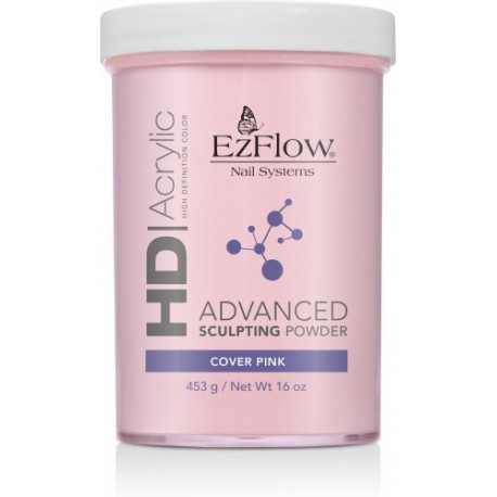EzFlow puder akrylowy HD Cover Pink 453g